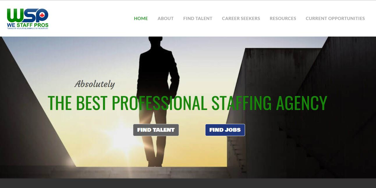 RoughRider Digital Marketing website build We Staff Pros